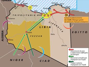 Tripoli presenta le sue richieste