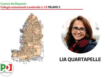 Lia con e per Milano: sempre più vitale, più europea e più donna