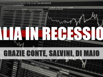 """""""Il governo ha cercato attivamente la recessione"""". Nubi sul 2019..."""