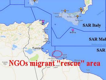 Salvini vieta a due navi ONG d'approdare nei porti italiani.