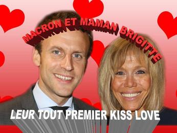 Emanuel Macron e Brigitte : un amour romantique