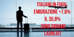 Sorpresa: l'emigrazione italiana all'estero sta svuotando il Centro-Nord, non il Sud