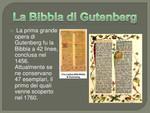 L A RIVOLUZIONE DELLA COMUNICAZIONE: STAMPA DELLA PRIMA BIBBIA IN TEDESCO