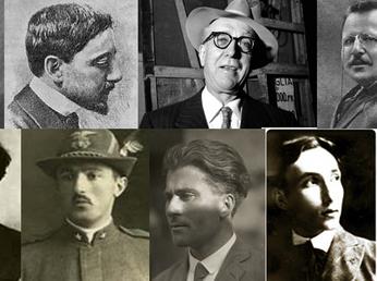 Gli intellettuali europei nel vortice della Grande guerra. L'Italia nel periodo della neutralità e i