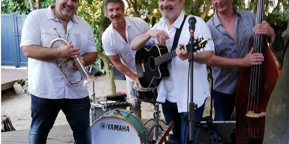 repas concert avec le groupe cubain Conjunto Mezclao