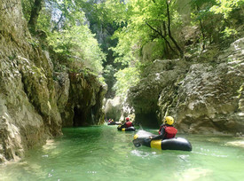 Canyon de l'artuby en Packraft