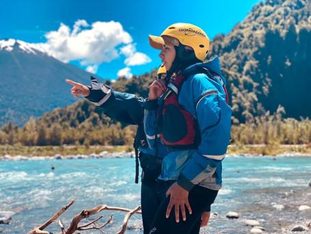 Premier stage en Packraft en Patagonie