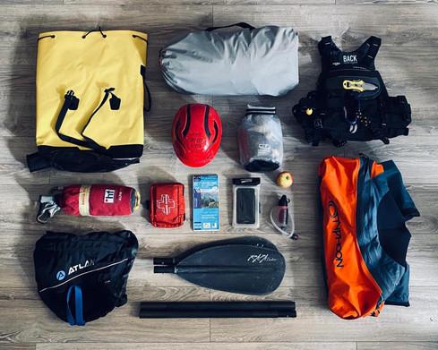 packraft-équipement