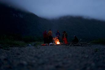Bivouac en Patagonie