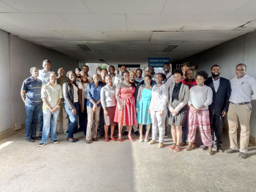 Highlights of the authorship workshop held at University of Nairobi on January 20th, 2018