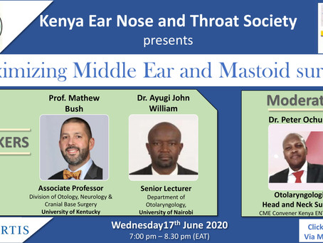 MAXIMIZING MIDDLE EAR AND MASTOID SURGERY