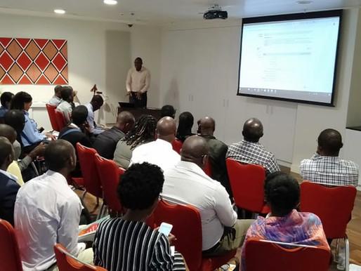 Authorship workshop in Kigali, Rwanda