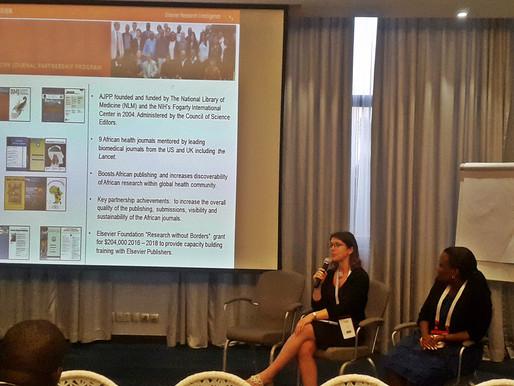 Zoe Mullan, Editor of the Lancet Global Health, visits AAS