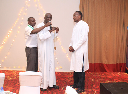 Dr. James Kigera inducted as the new Honorary Chairman of the Kenya Orthopedic Association