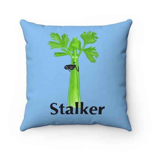 Stalker - Square Pillow