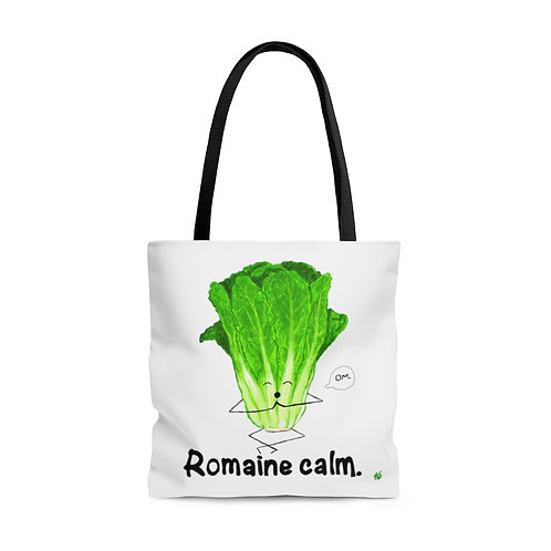 Romaine Calm  - Large Tote Bag