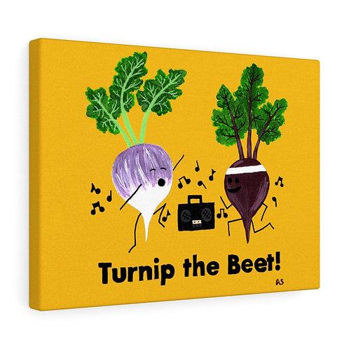Turnip the Beet - Canvas Print