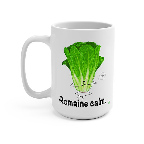 Romaine Calm - Mug 15oz