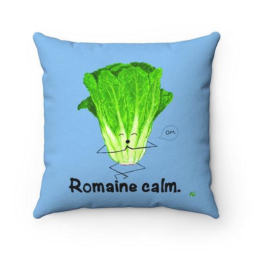 Romaine Calm - Square Pillow