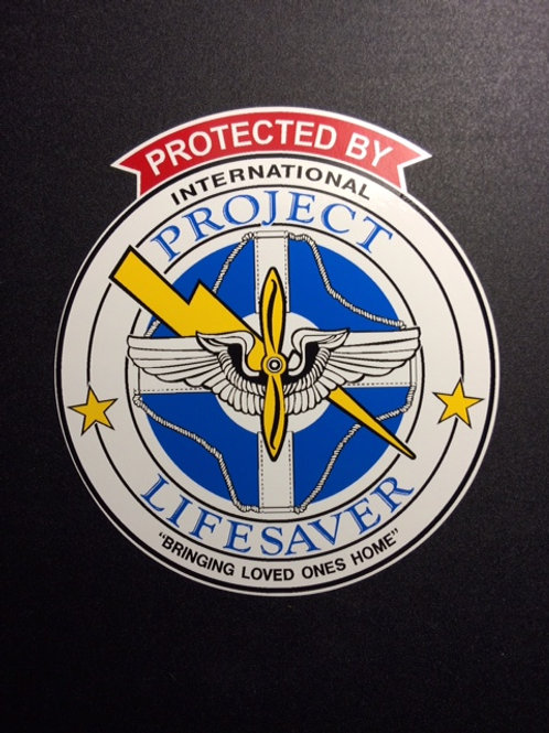 Protected by PLS - DECAL