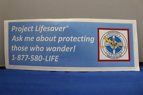Ask About PLI Decal