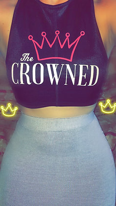 Crowned Crop Top