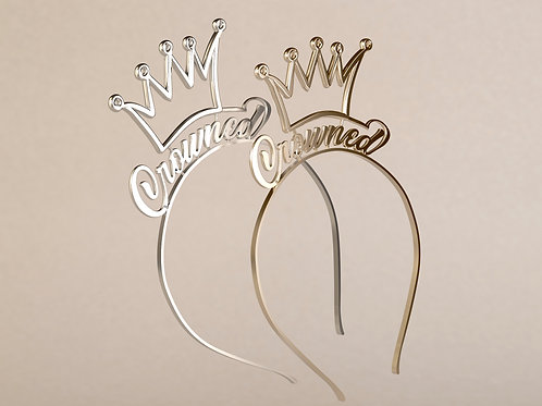 THE CROWNED- Crown Silver/ Gold-