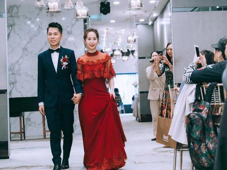 不一樣的紅色禮服,文定,婚宴都值得推薦的-復古,古董婚紗