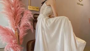 Mikeshi wedding 米娔詩手工訂製婚紗- {婚紗試穿}
