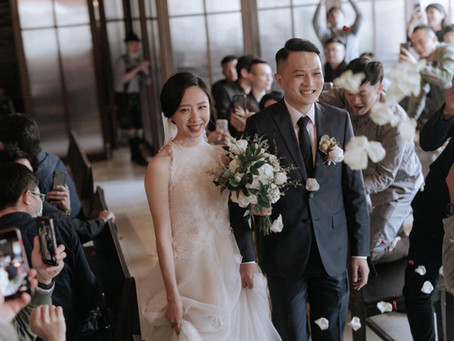 Mikeshi wedding [cincin系列]台中金色三麥婚禮