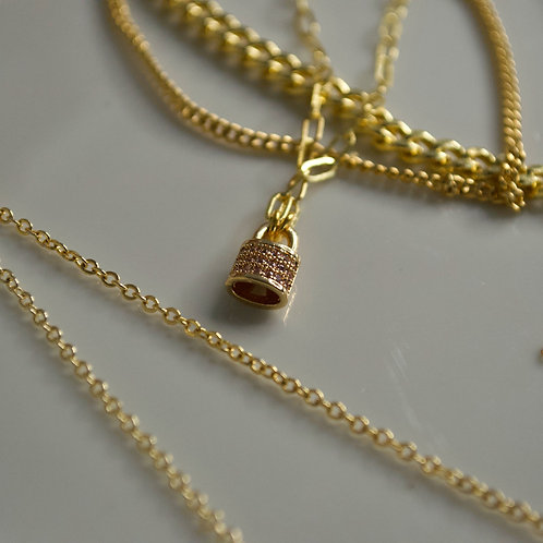Locked-In Necklace