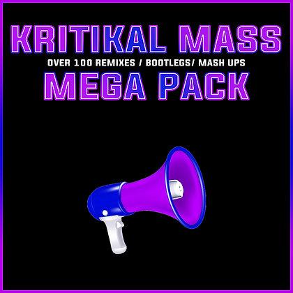 Kritikal Mass 101 Tracks Mega Pack Digital Download