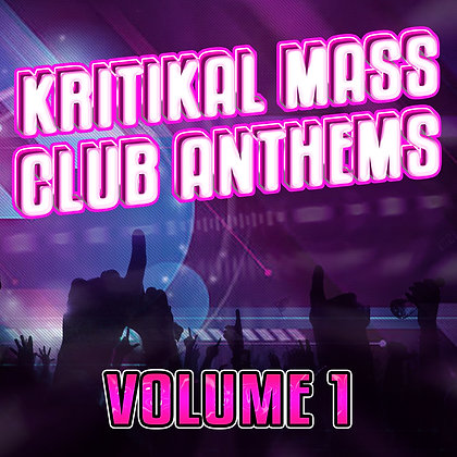 Kritikal Mass Club Anthems Vol. 1 CD