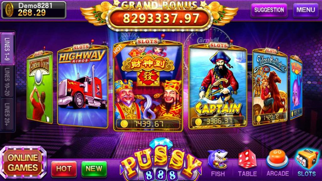 Pussy888 live slot