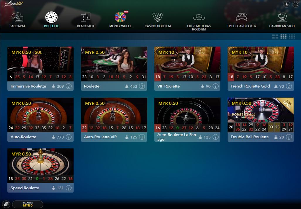 Live22 Casino3