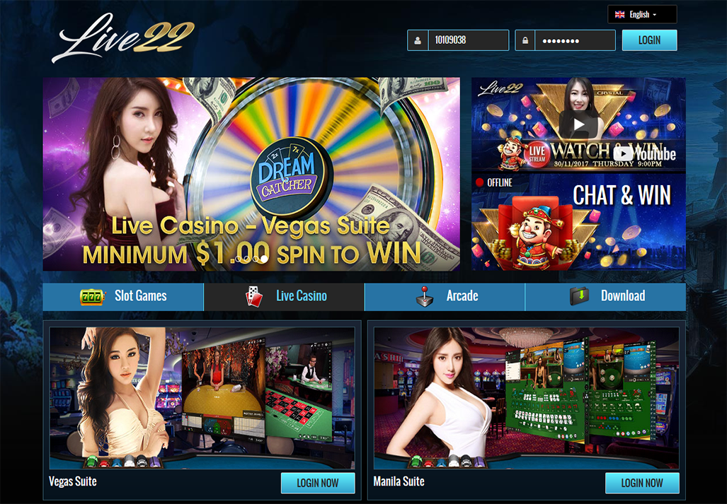 Live22 Casino - Live22 Apk Download - Malaysia Slots Machines