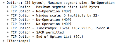 How TCP Works - The Timestamp Option