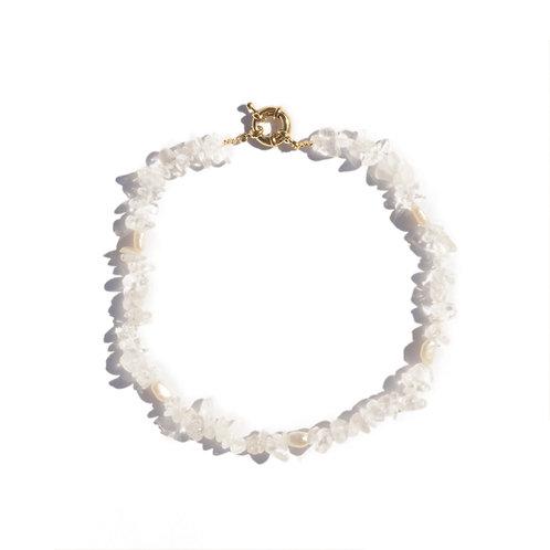 Dazed Necklace: Crystal Clear