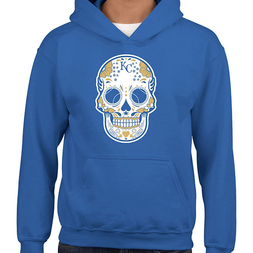 SUDADERA SKULL ROYALS KANSAS CITY