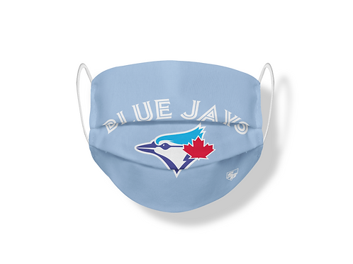 Cubrebocas Doblevista Toronto Blue Jays