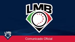 Comunicado del presidente ejecutivo de la LMB.