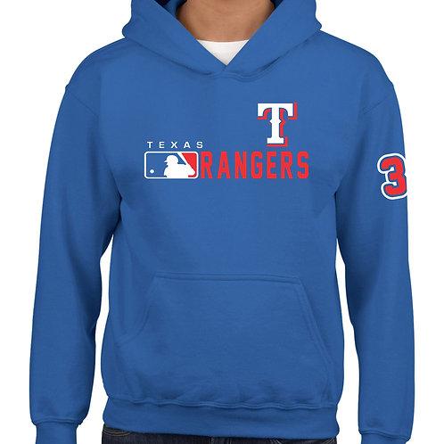SUDADERA RANGERS DE TEXAS MLB DISTINCTION