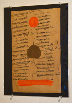 """Under the Bodhi Tree, Orange"""