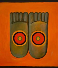 """Compassion; Feet"""