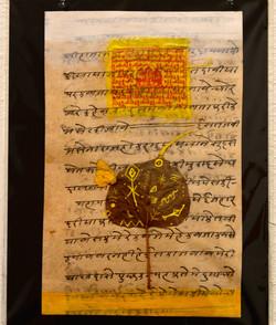 """Under the Bodhi Tree, Yellow"""