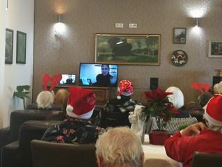 USUSRET BOŽIĆU -                                     Božićna radionica za naše najstarije!