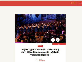 I Večernji najavio veliki koncert u Lisinskom