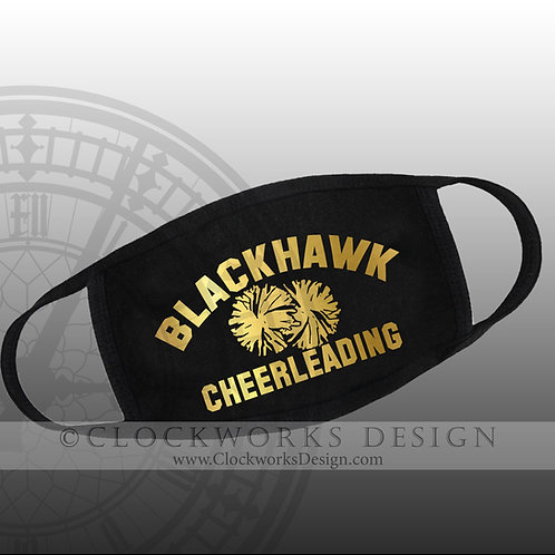 Adrian Blackhawk Cheerleading Mask