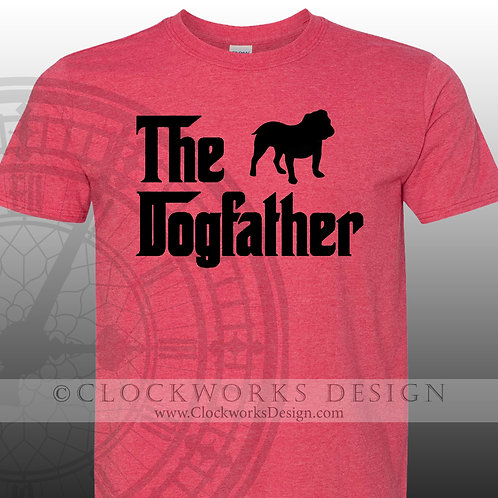 Pets, The Dog father,mens shirt,shirt with sayings,dog dad, love my dog, paws