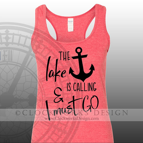 The-Lake-is-Calling-and-I-must-Go,shirt,shirts-with-sayings,lake,beach,camping